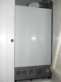 COMBINATION GAS BOILER-WORCESTER BOSCH 28CDi RSF-Good Working Cond With Gas Safety Certificate