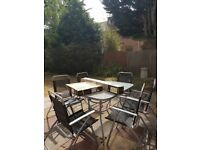 Graden table 6 seater patio set