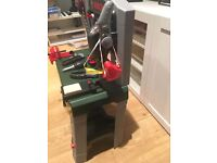 Kids Bosch toy work bench with tools