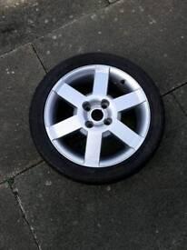 "16"" spare wheel."