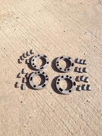 Wheel spacers 4x4