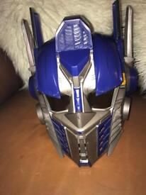 Transformers Optimus Prime Interactive Helmet