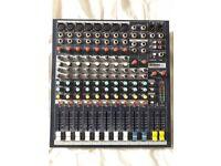 Soundcraft epm8 8 channel mixing desk. Allen heath console pioneer etc