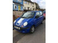 Daewoo Matiz 800cc, 73000 miles, perfect first car, MOT to Nov 2018