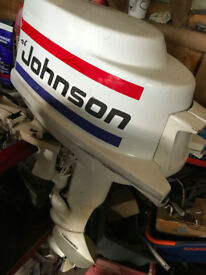 Rare Vintage Johnson 10hp Outboard 1963