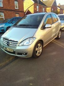 Mercedes Benz A class A169 1.5 petrol automatic transmission 5 door 6 cd bluetooth 1 years mot