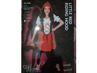 Little Red Riding Hood Girls FANCY DRESS BOOK WEEK OUTFIT