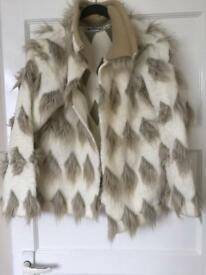 lady's fur coat