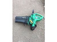 POWER BASE GARDEN VAC AND BLOWER