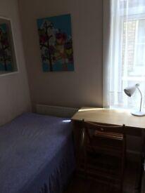 SHORT OR LONG TERM SMALL SINGLE ROOM IN MODER HOUSE, 3 MIN WALK TOTTENHAM TUBE, 3 BATHROOMS, CLEANER