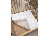 BabyDan baby playpen with reversible mat