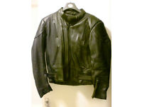 Leather Motorcycle Jacket by Skin