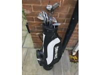 Spalding Golf Club Set + Bag