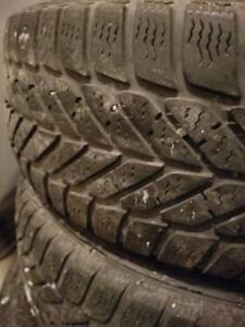 4 PNEUS HIVER GOODYEAR 215 60 16 4 WINTER TIRES
