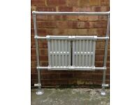 Vintage radiator/towel rail
