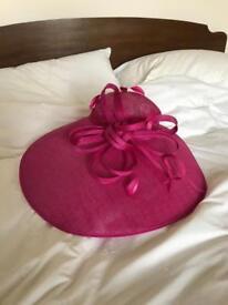 Hot Pink Formal Event Hat