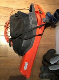 Black and decker leaf vac/blower