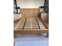 King Size Bed with Tempur Mattress