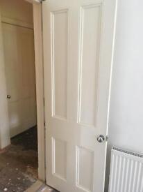 Door - original tenement flat panel door