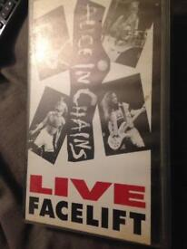 Alice in chains vhs