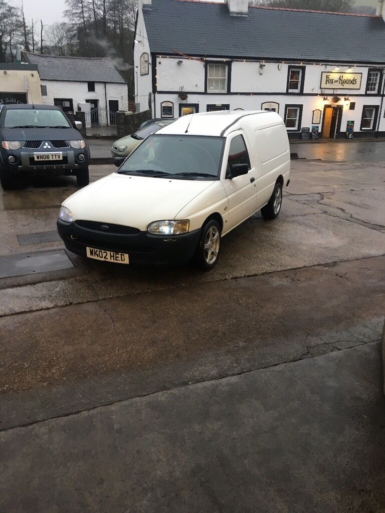 cf662a2ab6fded 2002 ford escort van fsh 75000 miles excellent condition