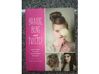 Braids Buns and Twists Tutorial Book