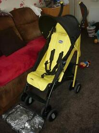 Chicco echo stroller with raincover