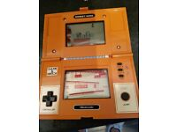 nintendo donkey kong game all working in good condition