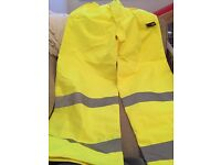 Brand new Hi Viz trousers,small size,ideal for Walking/working outdoors etc,bargain at £2!!