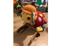 Mamas & Papas Lotty Ladybird Rocking Ride-On Rocker Baby Activity