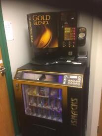 Coffee & Snacks Vending Machine
