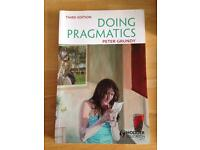 Doing Pragmatics Paperback – by Peter Grundy (Author)