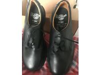 Genuine Dr Marten Safety shoes size 6 black