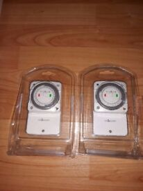 Time Guards timers NTT05 24 Hour Slimline General Purpose Timeswitches