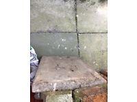 Free paving slabs patio slabs x6