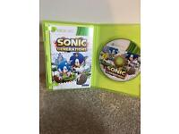 Used Sonic Generations Xbox 360 game