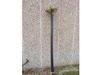 Chimney Sweep Brush + 5 x 1.4m Rods