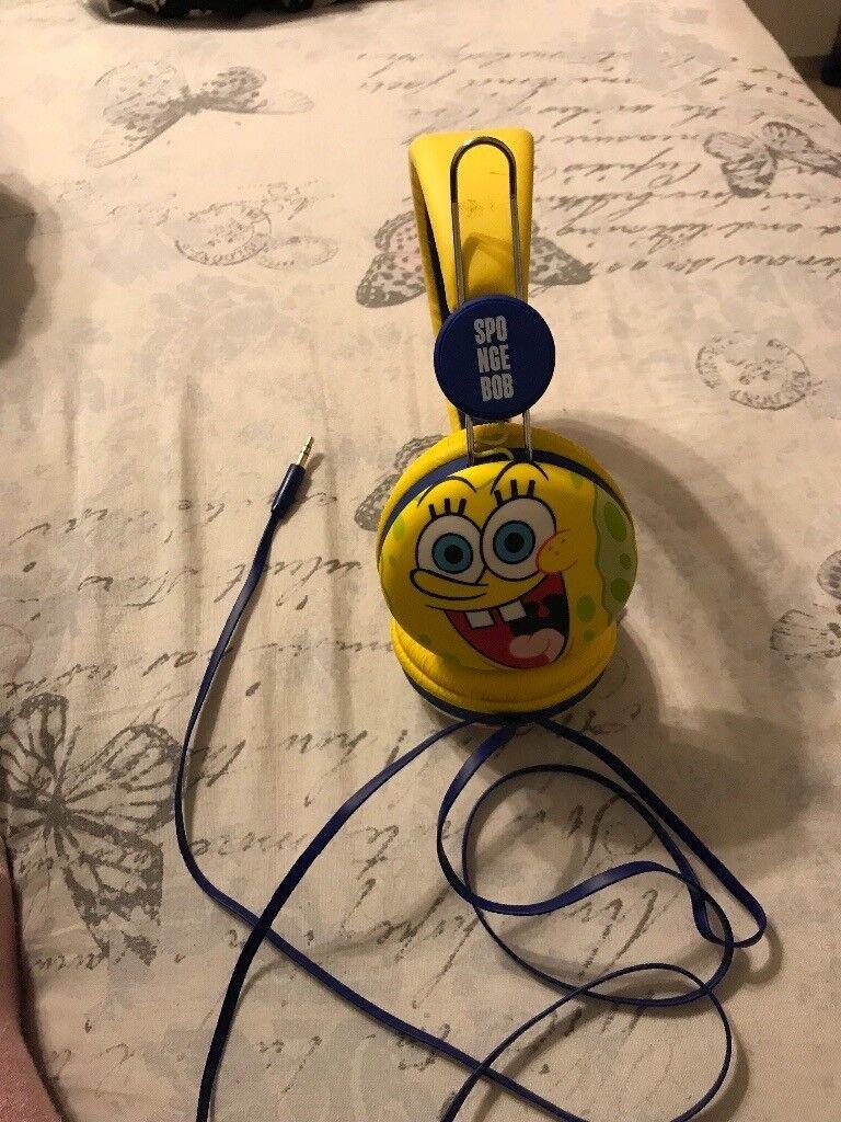 Spongebob head phones