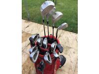 Complete golf set - bargain.
