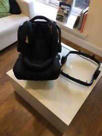 Black - Brand new boxed graco snug fix rrp £149.99 inc adaptor