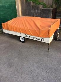 Conway trailer tent campa SPARES OR REPAIRS