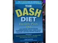 The Dash Diet Health Plan Book - As New - Never Read - £1