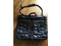 Vintage Brown Leather Suit Carrier, quality piece from Bag and Baggage £35 ono
