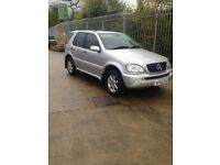 Mercedes ml 270 cdi 7 seater