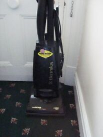 Electrolux upright vacuum cleaner.