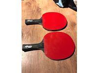 Blutenkirsche Black Mamba Carbon Table Tennis Bats x 2 new other