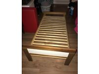 Infant bed and mattress