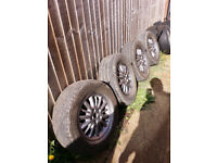 Chrysler Voyager alloys 5x114.3R16 ET40, Central bore: 71.6 mm, Nuts: M12x1.5