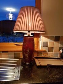 Lamp tall oriental style