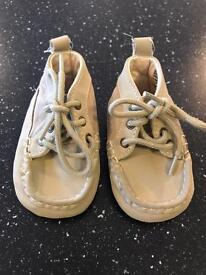 Baby Gap Beige 'Boat Shoes' - Like New Condition!